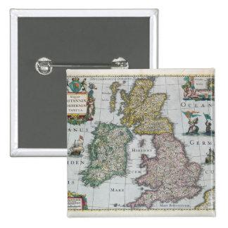 Mapa de Gran Bretaña, 1631 Pin