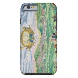 "Mapa de Granada, de ""Civitates Orbis Terrarum"" Funda De iPhone 6 Tough"