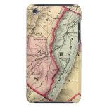 Mapa de Grant, condados resistentes iPod Touch Case-Mate Fundas