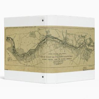 Mapa de Great Falls Park (1928)