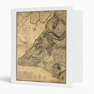 "Mapa de Greenwich Nueva York de Juan Montrésor Carpeta 1"""