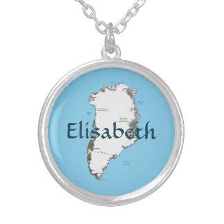Mapa de Groenlandia + Collar conocido