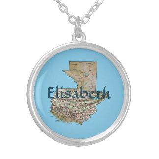 Mapa de Guatemala + Collar conocido