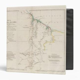 "Mapa de Guayana británica Carpeta 1 1/2"""