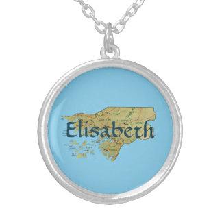 Mapa de Guinea-Bissau + Collar conocido