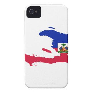 MAPA DE HAITÍ Case-Mate iPhone 4 FUNDAS