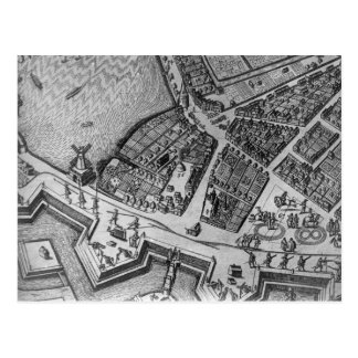 Mapa de Hamburgo Tarjetas Postales