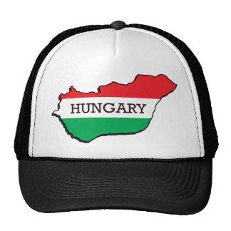 Mapa de Hungría Gorras De Camionero