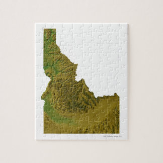 Mapa de Idaho 2 Rompecabezas