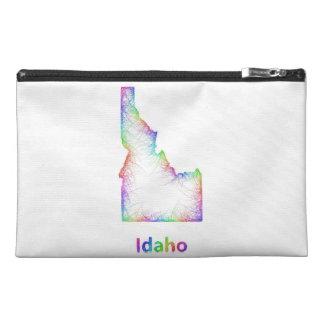 Mapa de Idaho del arco iris