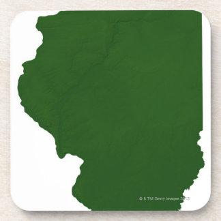 Mapa de Illinois Posavaso