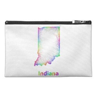 Mapa de Indiana del arco iris