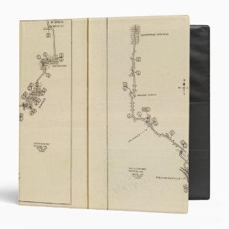 Mapa de índice Albany, Saratoga Springs