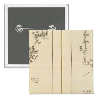 Mapa de índice Albany Saratoga Springs Pins