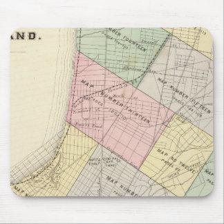 Mapa de índice de Oakland Alfombrilla De Ratones