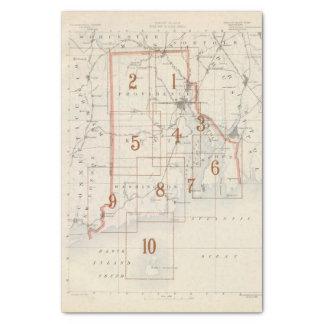 Mapa de índice de Rhode Island