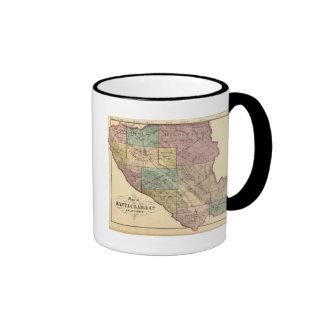 Mapa de índice de Santa Clara Co Taza De Café