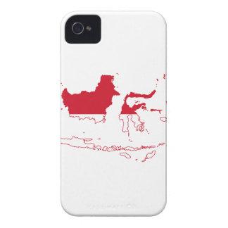 MAPA DE INDONESIA iPhone 4 CARCASAS