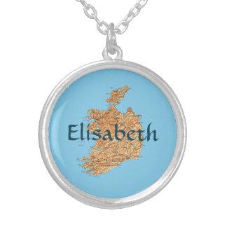 Mapa de Irlanda + Collar conocido