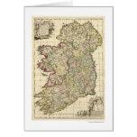 Mapa de Irlanda de Federico de Wit 1710 Tarjeta