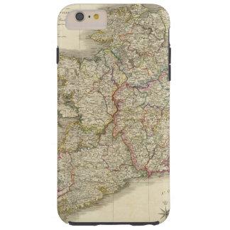 Mapa de Irlanda Funda Para iPhone 6 Plus Tough