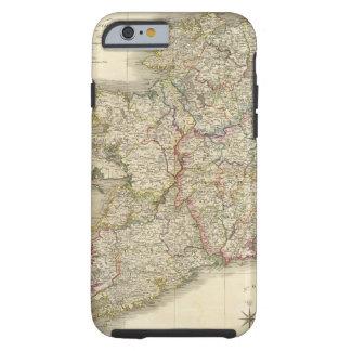 Mapa de Irlanda Funda Para iPhone 6 Tough