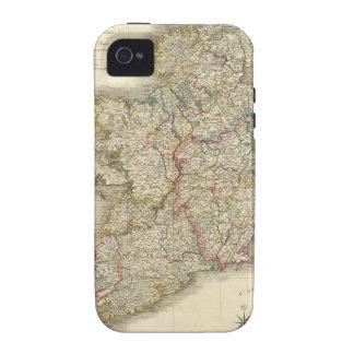 Mapa de Irlanda iPhone 4 Carcasa