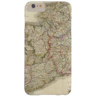 Mapa de Irlanda Funda De iPhone 6 Plus Barely There