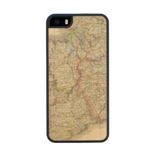 Mapa de Irlanda Funda De Madera Para iPhone 5