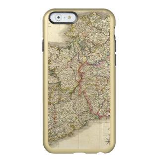 Mapa de Irlanda Funda Para iPhone 6 Plus Incipio Feather Shine