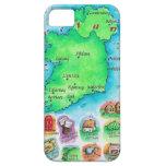 Mapa de Irlanda iPhone 5 Protector