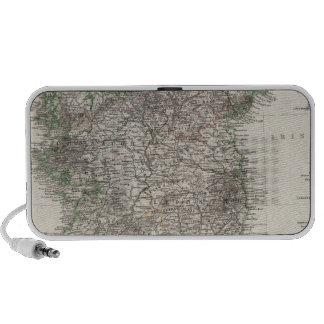 Mapa de Irlanda por Stieler Altavoz De Viajar
