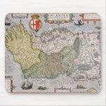 Mapa de Irlanda Tapetes De Ratón