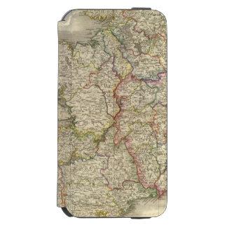 Mapa de Irlanda Funda Cartera Para iPhone 6 Watson