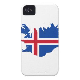 MAPA DE ISLANDIA iPhone 4 PROTECTOR