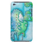 Mapa de Islandia Funda Case-Mate Para iPod