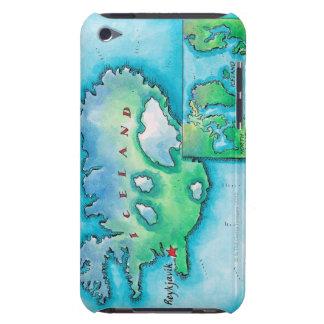 Mapa de Islandia Funda Para iPod De Case-Mate