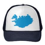 Mapa de Islandia Gorro