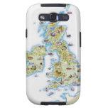 Mapa de islas británicas samsung galaxy s3 carcasas