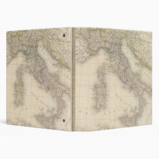 """Mapa de Italia Carpeta 1 1/2"""""""