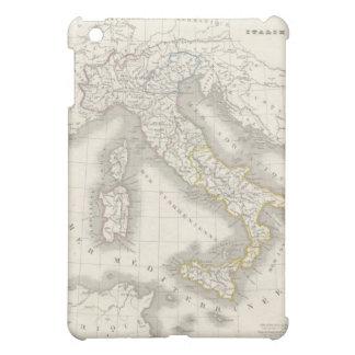 Mapa de Italia del Viejo Mundo del vintage