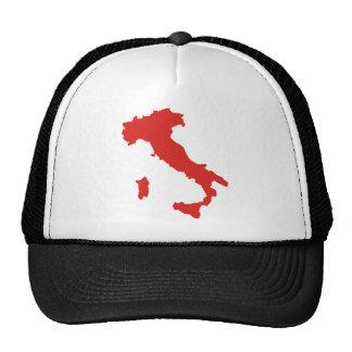 Mapa de Italia Gorra