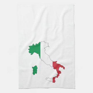 MAPA DE ITALIA TOALLA DE COCINA