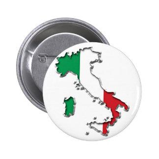 Mapa de Italia Pin