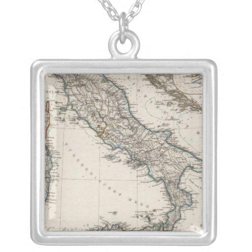 Mapa de Italia por Stieler Colgante