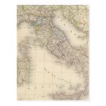 Mapa de Italia Postal