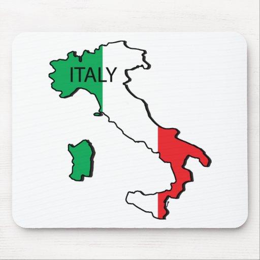 Mapa de Italia Tapete De Raton