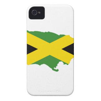 MAPA DE JAMAICA iPhone 4 Case-Mate FUNDAS