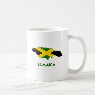MAPA DE JAMAICA TAZA DE CAFÉ