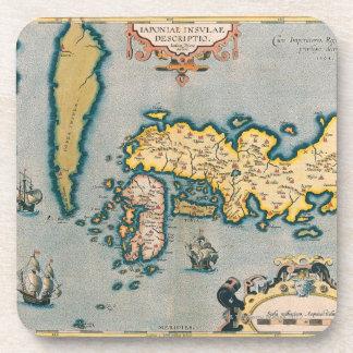 Mapa de Japón 5 Posavaso